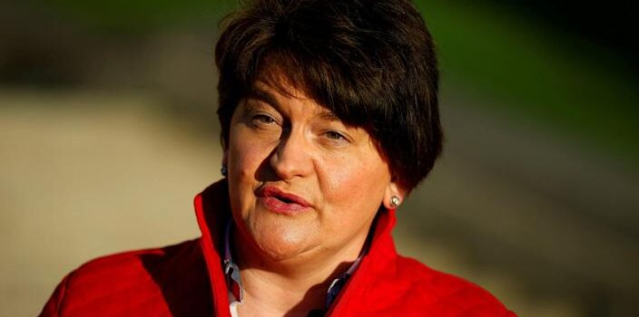 Arlene Foster resigns as DUP leader and Northern Ireland First Minister - Phil Noble/Reuters