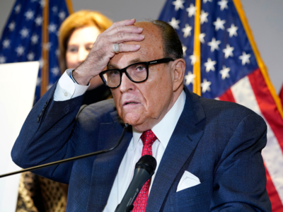 Feds execute warrant at Rudy Giuliani's NYC home
